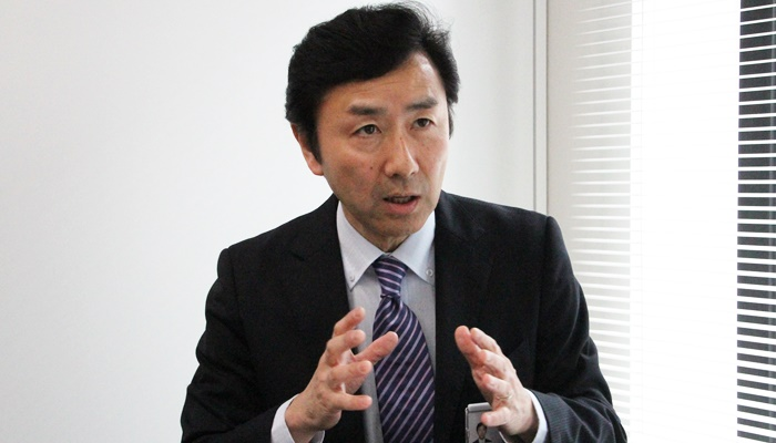 土木総本部情報システム部 企画管理グループ グループ長 渡邊照彦 様