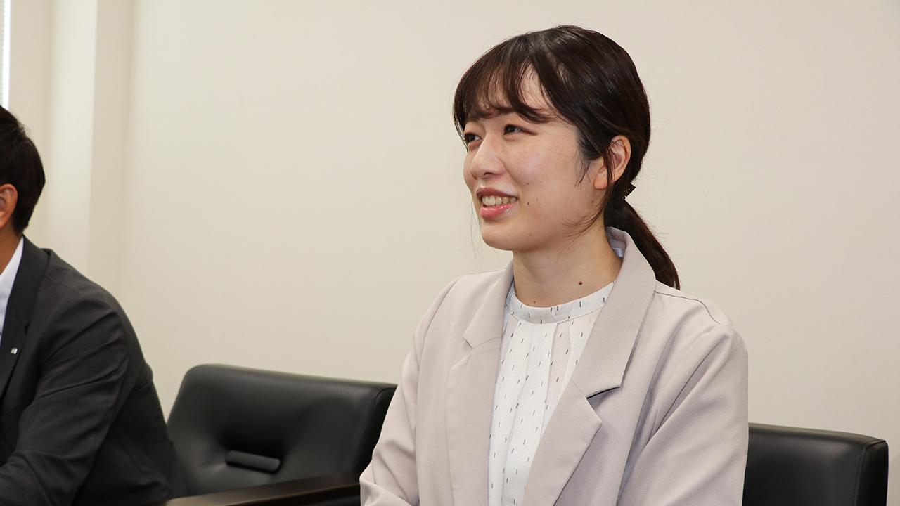 人事部 人材開発課 柴田 知恵理 様