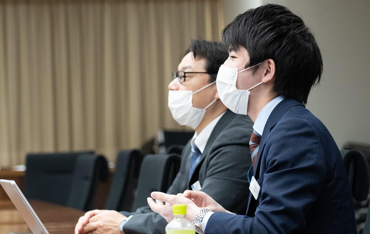 取材の際は終始、新型コロナウイルス対策のためマスクをしながらインタビューを実施